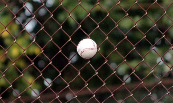 ball in fence good